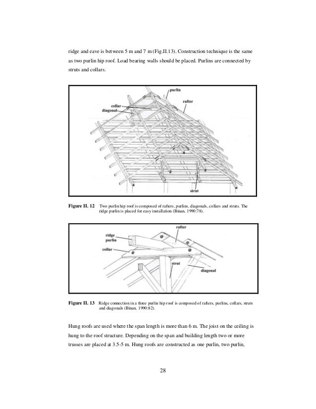 The Performance Of Medium And Long Span Timber Roof Structure