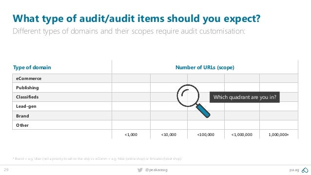 pa.ag@peakaceag29 What type of audit/audit items should you expect? Different types of domains and their scopes require au...