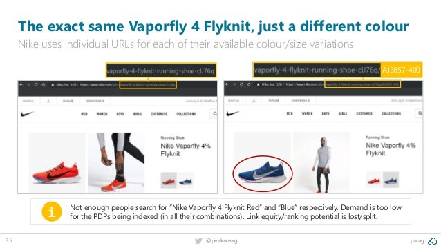 pa.ag@peakaceag35 The exact same Vaporfly 4 Flyknit, just a different colour Nike uses individual URLs for each of their a...
