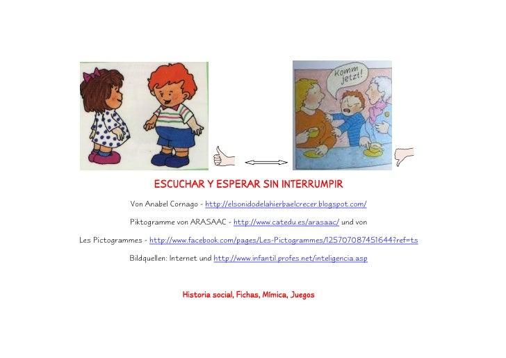 ESCUCHAR Y ESPERAR SIN INTERRUMPIR             Von Anabel Cornago - http://elsonidodelahierbaelcrecer.blogspot.com/       ...