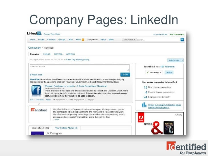 facebook vs linkedin Linkedin is a social media network that is geared towards professionals and businesses while this particular website has been around for several years, it is just now starting to pick up in popularity en masse because many more people are starting.