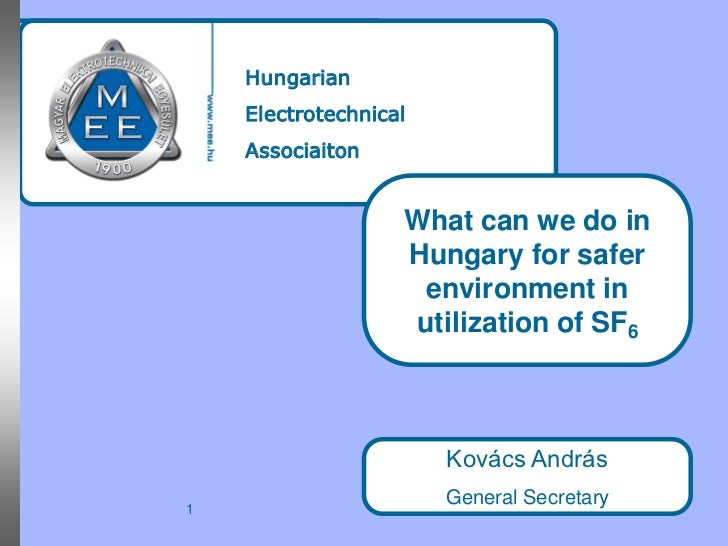 Hungarian    Electrotechnical    Associaiton                   What can we do in                   Hungary for safer      ...
