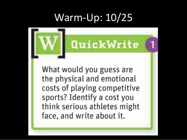 Warm-Up: 10/25
