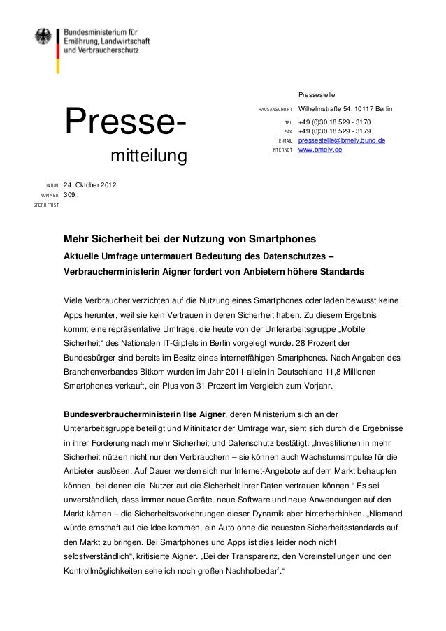 Pressestelle                                                                   HAUSANSCHRIFT   Wilhelmstraße 54, 10117 Ber...