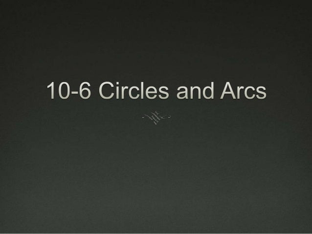 Essential Understanding You can find the length of part of a circle's  circumferences by relating it to an angle in the c...