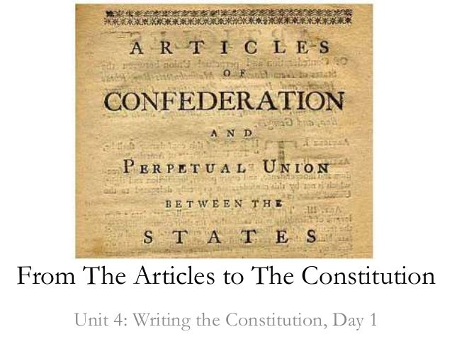 Constitution timeline
