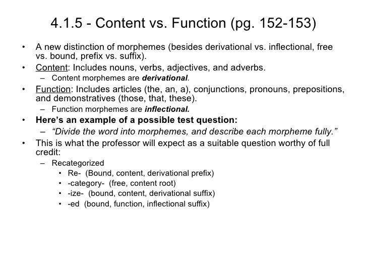bound morphemes pg Page 1  their uses as bound morphemes, if a n-n compound had the same  structure as a  cf2 (= bound morpheme, categorially unspecified root.