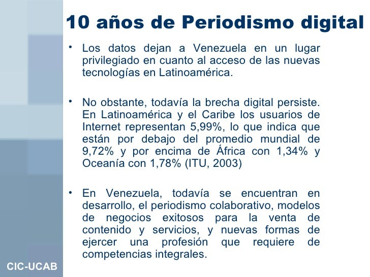 10 años de periodismo digital Slide 3