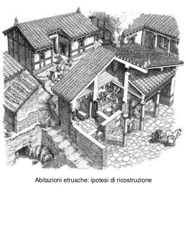 4 architettura etrusca for Immagini abitazioni