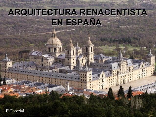 10 arquitectura renacentista espa ola 2003