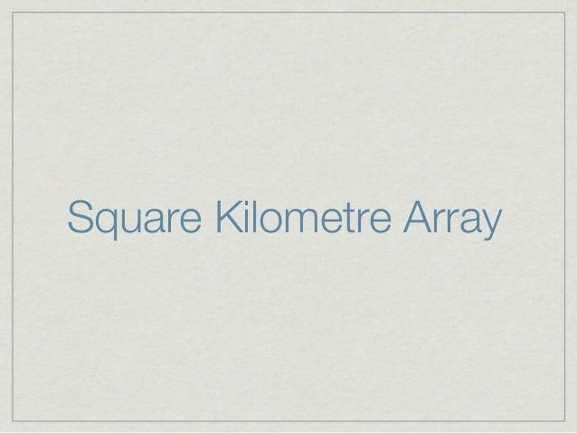Square Kilometre Array