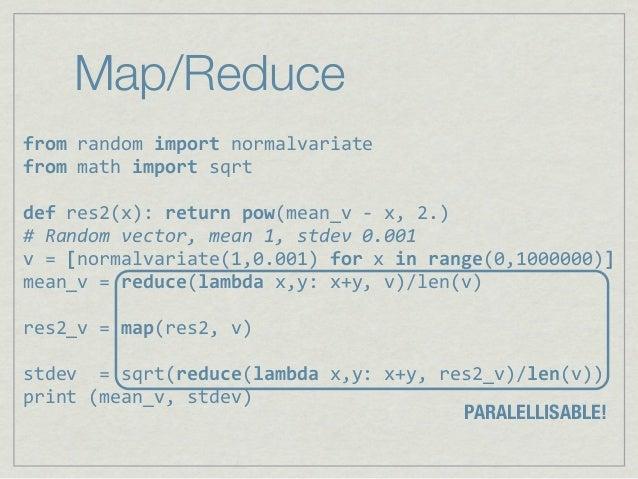 "Map/Reducefrom%random%import%normalvariatefrom,math,import,sqrtdef,res2(x):,return,pow(mean_v,6,x,,2.)#""Random""vector,""mea..."