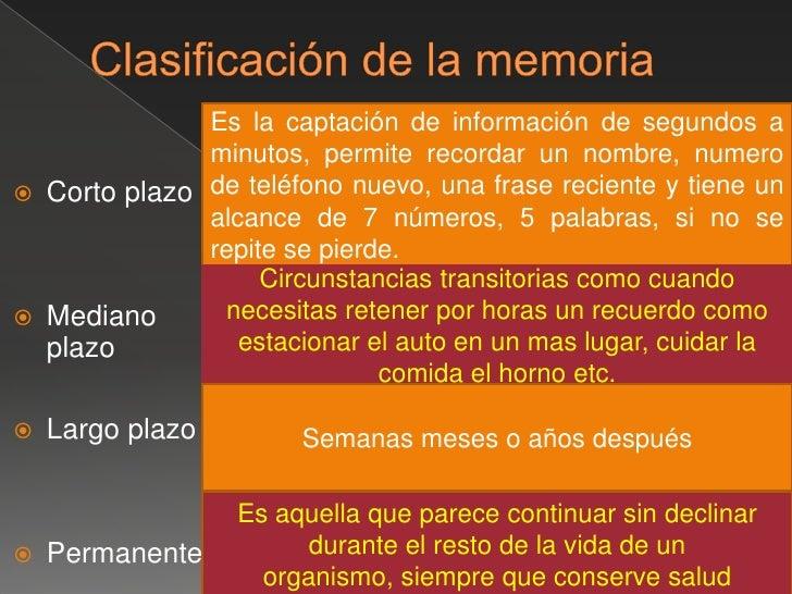 """Fases de la memoria<br />La 1ra. Fase de la memoria es la fijación que es """"la grabación"""" del estimulo sensorial percibido...."""