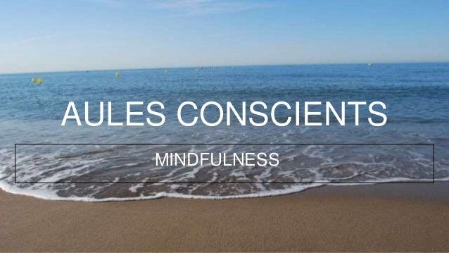 AULES CONSCIENTS MINDFULNESS