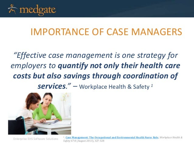 the benefits of assigning case managers Both an individual and the organisation they work for should benefit from an individual achieving a project management qualification or certification.