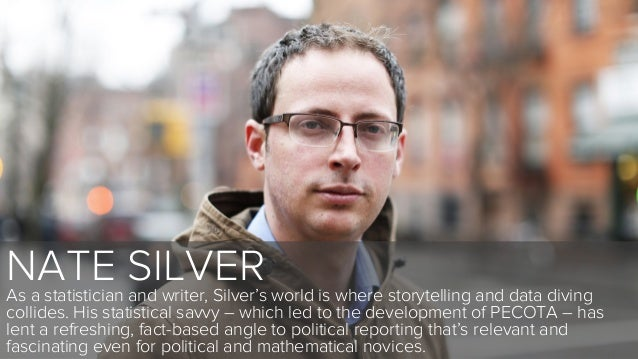 NATE SILVERAs a statistician and writer, Silver's world is where storytelling and data divingcollides. His statistical sav...