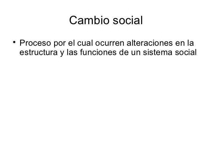 10. cambio social Slide 2