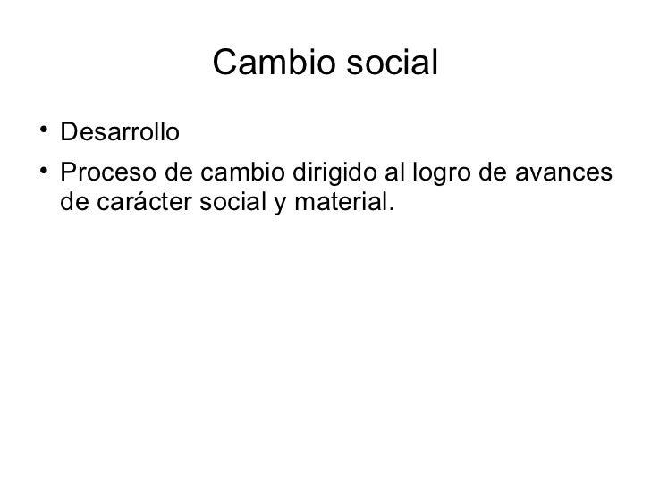 10. cambio social Slide 3