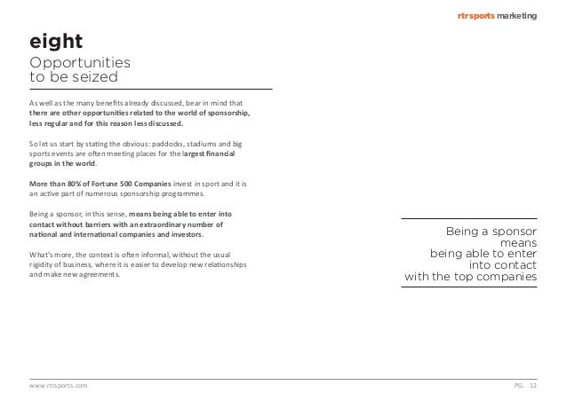 10 commandments of sponsorship and sports marketing. Black Bedroom Furniture Sets. Home Design Ideas
