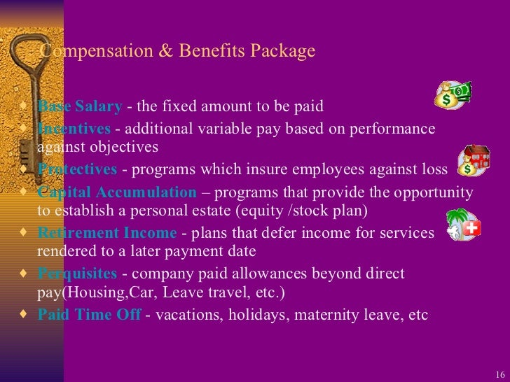 Chapter 10 compensation and benefits