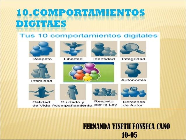 FERNANDA YISETH FONSECA CANO             10-05