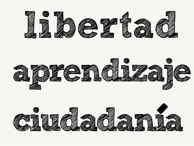 libertad aprendizaje ciudadania