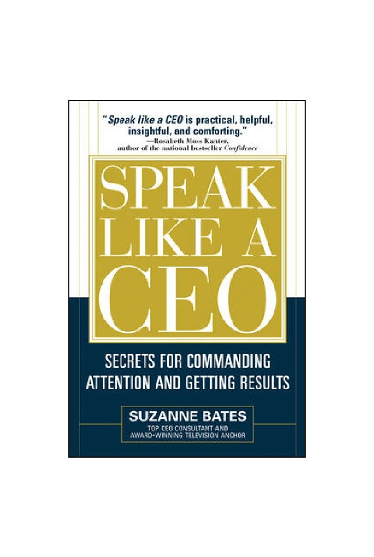 """PA R T 3            The Strategies          Become a Great Speaker by         Making a Plan and Working It     """"Don't stay..."""