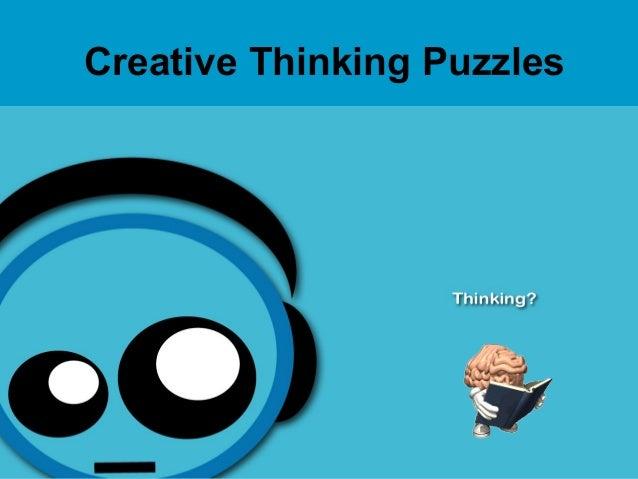 1Creative Thinking Puzzles