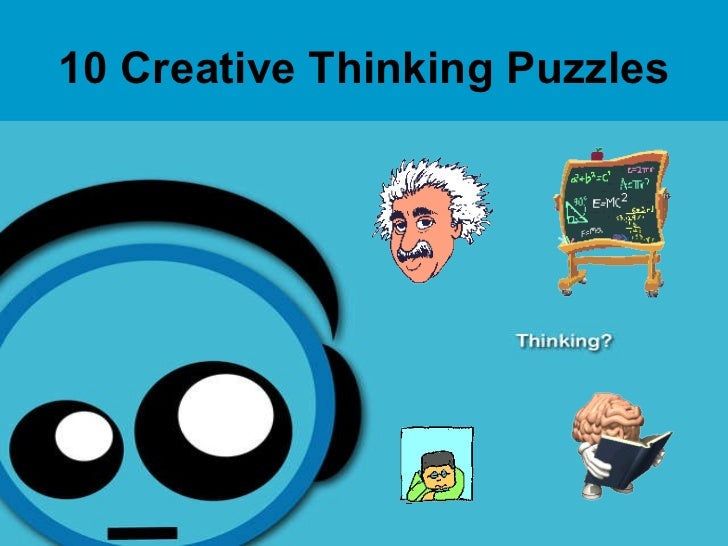 10 Creative Thinking   Puzzles