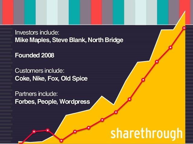u   CUSTOMERS AS COFOUNDERS              @dgreenbergInvestors include:Mike Maples, Steve Blank, North BridgeFounded 2008Cu...