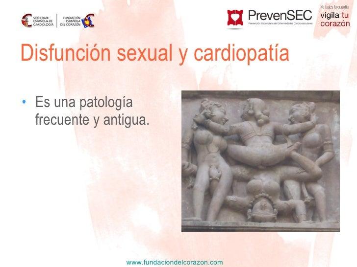 Disfunción sexual y cardiopatía Slide 3