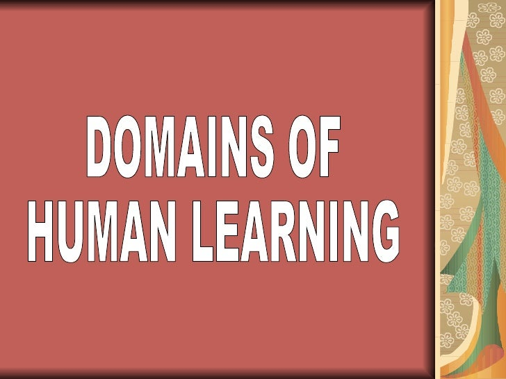 the three domains of learning pdf