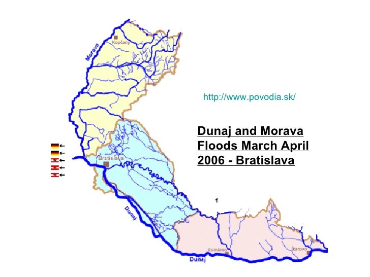 http://www.povodia.sk/ Dunaj and Morava Floods March April 2006 - Bratislava