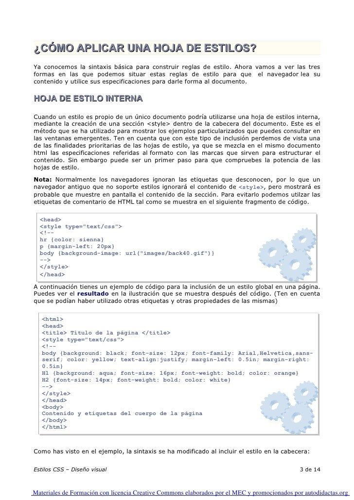 10. Edicion Html. Estilos Edicion Html. Aplicar Estilos   0001 Slide 3