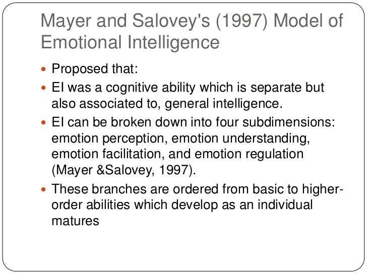 describe the cognitive and non cognitive abilities relating to emotional intelligence Psychology was my first major and i vividly remember a professor explaining that  intelligence is a measure of one's ability to learn and being smart is a measure.