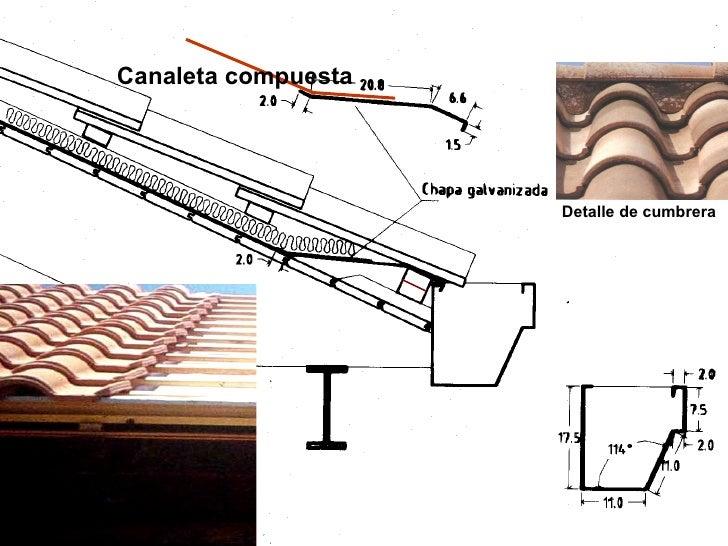 10 entrepisos y techos for Canaletas para techos de madera