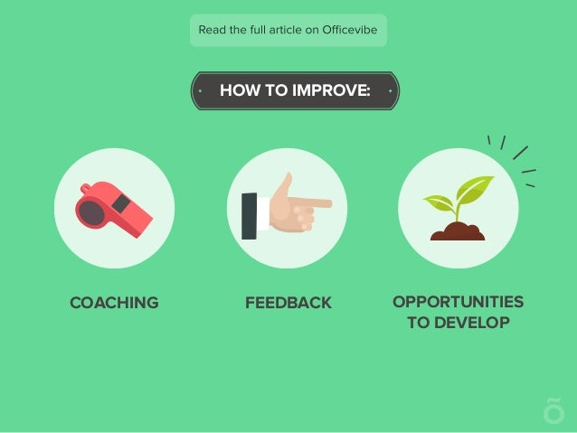 HOW TO IMPROVE: COACHING FEEDBACK OPPORTUNITIES TO DEVELOP