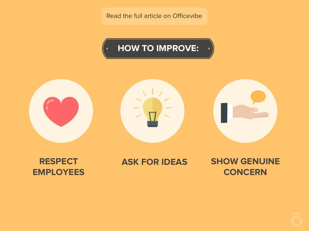 How To Improve Respect Employees