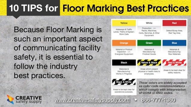 10 Floor Marking Tips Slide 3