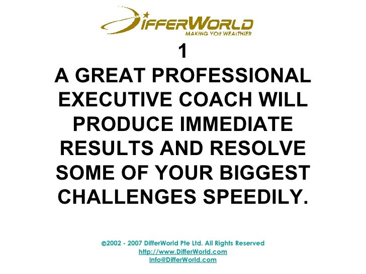 how to become a professional executive coach