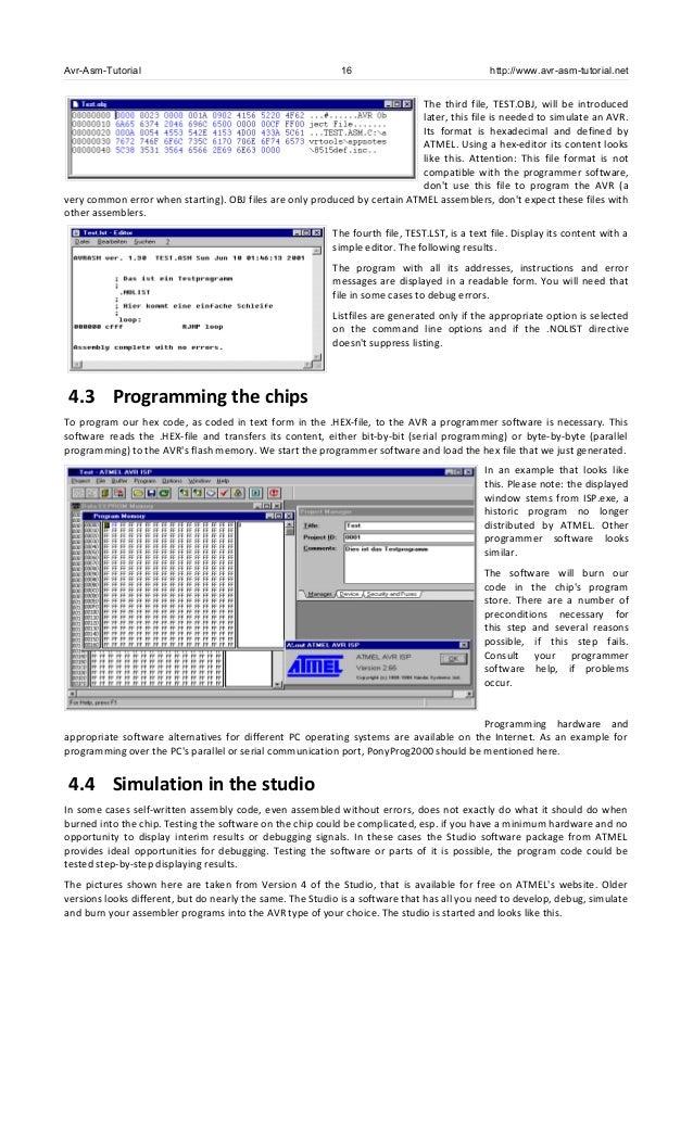 Guia de linguagem Assembly para microcontroladores Atmel AVR