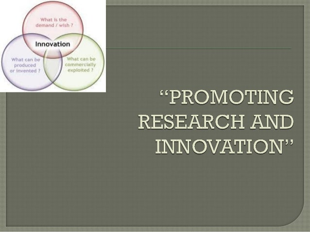 """INNOVATION PROGRAMME """"Innovation is anything, but business as asaual"""" - A . Warhol AIM: Increasing the capacity of innovat..."""