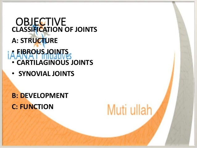 fixed fibrous joints