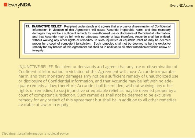 10 Clauses To Have In Non Disclosure Agreements Nda