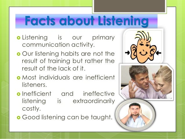 whats ineffective listening