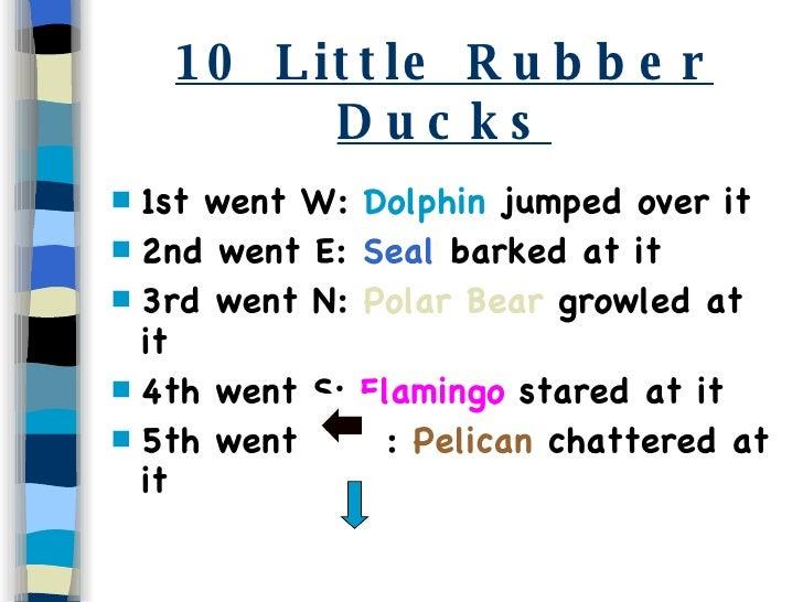 10 little rubber ducks pdf