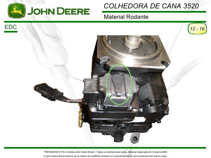 COLHEDORA DE CANA 3520                                                               Material RodanteEDC                  ...