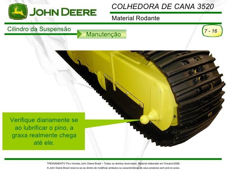 COLHEDORA DE CANA 3520                                                                      Material RodanteCilindro da Su...