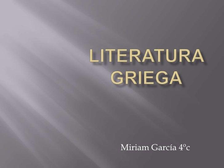 Miriam García 4ºc