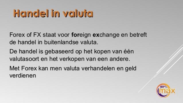 Historien bag The Foreign Exchange Market